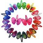 Butterfly Boutique Ribbon Bow Hair Clips Pins Clip Pin Girls Ladies Accessories