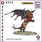 BITS WARHAMMER BATTLE CHAOS LORD ON MANTICORE