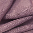 LINEN FABRIC SOLD PER METER 1.5M WIDE 12 COLOURS WEDDING DRAPPING SWAGGING DECOR