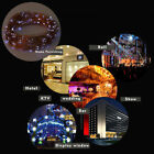 Solar Powered Warm White 20M 200LED Copper Wire Outdoor String Fairy Light DS