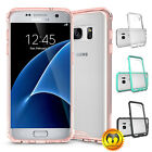 For Samsung Galaxy S7/S7 Edge Shockproof Soft TPU Hybrid Clear Case Slim Cover