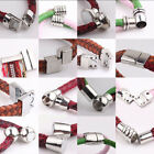 Внешний вид - 5 Sets Silver Plated Tone Strong Magnetic Clasp Hook Jewelry Necklace DIY Gift