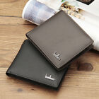 Genuine Leather Men Wallets Short Small Wallets Male Mens Purses Card Holder