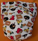 angry bird clothes - Adult New AIO Reusable Super Absorbent Cloth Diaper S,M,L,XL Angry Birds