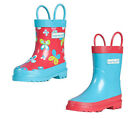 Target Dry Flutter Girls Waterproof Lined Welly Boots