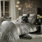 Kylie Minogue Bedding ESTA SILVER Grey Duvet Cover, Curtains, Cushion or Throw