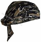 1pc Cotton Biker SKULL CAP Motorcycle Bandana Head Wrap Du Doo Do Rag Black Hat