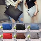 Large Tote Evening Handbag Envelope Bag PU Leather Women Clutches