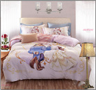 DISNEY Beauty and The Beast Duvet Cover High Quality Bedding Set Kids 3/4pcs UPS