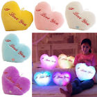 Brand New LED Romantic Light Up Glow Pillow Soft Cosy Relax Cushion Star UK Gift