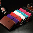 Flip Leather Card Wallet Kickstand Case Cover For LG Leon Dual SIM,  H340N /H320