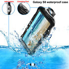 Swimming Waterproof Shockproof Phone Case Cover for Samsung Galaxy S8 / S8 Plus