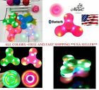 4x LOT Fidget Hand Spinner With LED LIGHT  Bluetooth Speaker,AUTISM,Relieve Str
