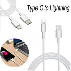 USB 3.1 Type-C USB-C to Lightning Data Sync Charge Cable For iPhone 6 6S 7 Plus