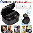 Bluetooth 4.1 Sport Mini Headset Stereo In-Ear Headphone Fr iPhone7 Plus Samsung
