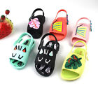 Leaves Cat Butterfly Kids Girl Sandals Jelly Shoes Ankle straps Dress Up Cosplay