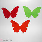 2 Pcs Felt Laser Cut Butterflies 15cm for Crafts and Decoration in Many Colors