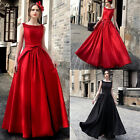 Women Bridesmaid Long Evening Party Ball Prom Gown Cocktail Formal Maxi Dress