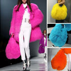 Women's Designer Fluffy 100% Real Lamb Feather Fur Bag Top Charming Handbag
