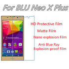 3pcs For BLU Neo X Plus Anti Explosion Film,High Clear Screen Protector