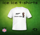 JAMES BOND - A VIEW TO A KILL  - FILM   - WHITE  ADULT  T-SHIRT £6.99 GBP