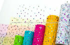 Glitter Heart Sequin Tulle Roll 10yds 6inch Tutu Wedding Decoration Crafts S4