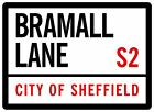 Sheffield United Football  A4 Bramall Lane Blades 2mm Semi Rigid Plastic UV Medi