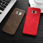 BOB Series PU Leather Back Cover Case For Samsung Galaxy S8 PLUS