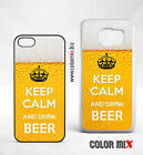KEEP CALM and Drink Beer Handyhülle iPhone Samsung Galaxy Cover Case  #H66