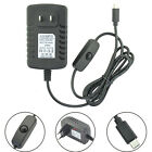 5V 3A Micro USB AC Adapter DC Wall Power Supply Charger for PC Phone Tasteful
