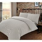 Stripe Pattern Blue Navy Black White 200 Thread 100% Cotton Duvet Cover Set Soft