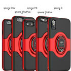 For iPhone X 6 6S 7 8 iPhone8 Plus 360° Shockproof Hybrid Rugged Slim Case Cover