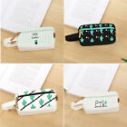 Cute Cactus Canvas Pen Pencil Case Box Cosmetic Pouch Brush Holder Makeup Bag