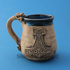 Beautiful Stoneware Viking Mugs, Viking, Asatru, Pagan