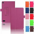 kindle fire hd case amazon - For Amazon Kindle Fire HD 8 2017 7th Gen Tablet Case Magnetic Thin Leather Cover