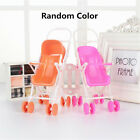 Dollhouse Miniature Furniture Plastic Stroller Bike Car For Barbie Toys 6 Styles