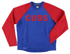 Nike Mens Chicago Cubs MLB Therma Fit Crew Tshirt Red