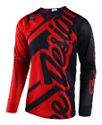 Troy Lee Designs 2018 SE Air Shadow Red Navy Race Jersey Shirt Motocross