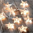 Battery Operated Star Lights Led 30 Fairy String Wire Indoor Party Bedroom Decor