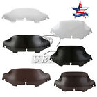 """6"""" 8"""" Wave Windshield Windscreen For Harley Electra Glide Touring 1996-2013 US"""