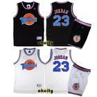 Michael Jordan #23 Space Jam Tune Squad Movie NBA Jersey Stitched Basketball Top