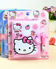 New Sweet Cute Kawaii Hellokitty Note Book + Ball Point Pen  AA3062