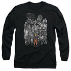 NARUTO CHARACTERS Anime Licensed Men's Long Sleeve Graphic Tee Shirt SM-3XL