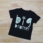 Sister Brother T-shirt Summer Matching Cotton Clothes Family Vacation Tops Tee