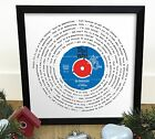 The Who My Generation | Vinyl Single 12 Inch LP Size Framed RETRO MOD GIFT