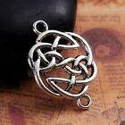 Celtic Knots Antiqued Silver Plated Connector Charms C0719 - 10, 20 Or 50PCs
