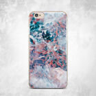 Water Ocean Marble Design Soft Silicone TPU Rubber Case iPhone 5 6 S 7 Plus 8