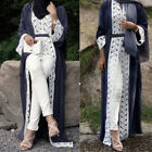 Dubai Abaya Jilbab Frauen Strickjacke Kaftan Muslim Cocktail Langes Maxi Kleid