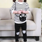 Kindstraum Baby Girl Striped Clothing Sets Autumn & Spring Children Sport Suits