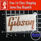 Gibson Guitar Headstock Logo Decal Vinyl Restoration Project Sticker *11 Colour*